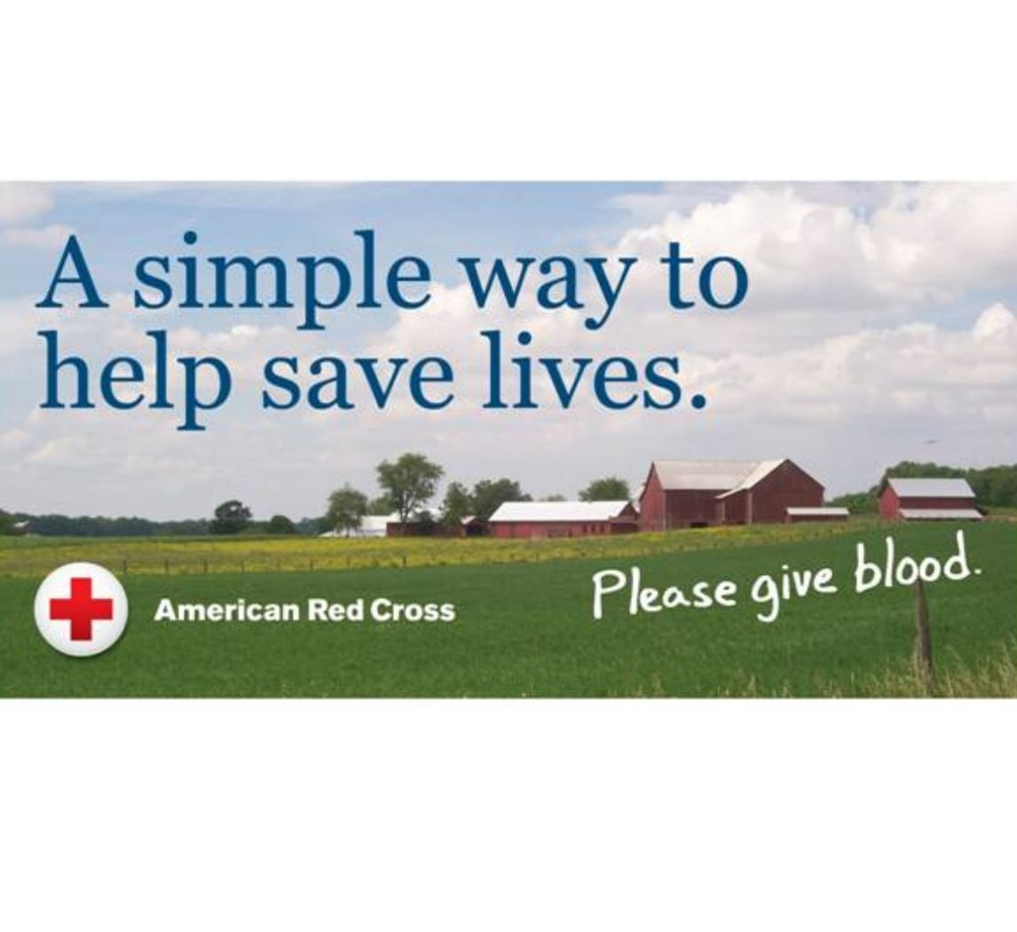 Red Cross Blood Drive 5/22